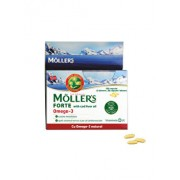 Capsule cu ulei din ficat de cod Moller's Forte Omega 3, 150 capsule