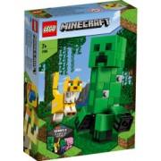 LEGO Minecraft Creeper si Ocelot 21156