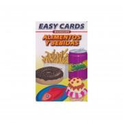 EASY CARDS BILINGUES FOOD AND DRINKS / ALIMENTOS Y BEBIDAS