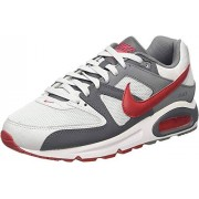 Nike Air MAX Command-629993-049 Zapatillas para Hombre, Color Pure Platinum/Gym Red-Dark Grey, 10