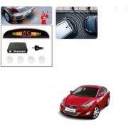 Auto Addict Car White Reverse Parking Sensor With LED Display For Hyundai Elantra