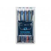 Set roller Schneider One Hybrid N 0,3mm, 4 culori