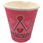 Papír pohár 10 db/cs - princess