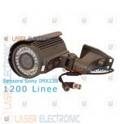 Telecamera da Esterno IP66 HD Cmos Sony 1200TVL Visione Notturna 40MT