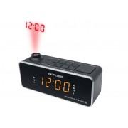 Radio cu ceas si proiectie MUSE M-188 P Black