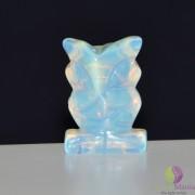 Bufnita opalit figurina gravata 30mm
