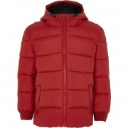 River Island Boys Red puffer coat