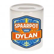 Bellatio Decorations Gekleurde Dylan spaarpotten voor kinderen