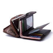 Genuine Leather 10 Card Holders Wallet Business Coin Bag Card Holder For Women Men