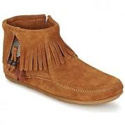 Minnetonka CONCHO FEATHER SIDE ZIP BOOT Schoenen Laarzen dames laarzen dames
