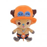 One Piece Gosedjur Chopper x Ace 20 cm