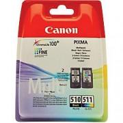 Canon PG-510/CL-511 Original Ink Cartridge Black & 3 Colours 2 Pieces