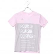 【SALE 50%OFF】ルコックスポルティフ LE COQ SPORTIF レディース 半袖機能Tシャツ 半袖シャツ QMWLJA12 レディース