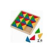 Mosaico Educativo 36 Pçs Colorido 1131 Carlu