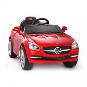 SWAGSPIN LICENSED MERCEDES SLK RIDE ON REMOTE CONTROL CAR FOR KIDS (RED)