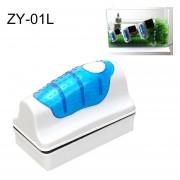 Zy-01l Aquarium Fish Tank Suspendido Magnetic Brush Cleaner Herramientas De Limpieza, L, Tamaño: 10,5 * 7.4 * 5.5cm