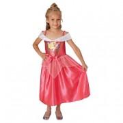 Rubie'S Princesas Disney - Bella Durmiente - Disfraz Lentejuelas 7-8 años