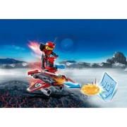 Firebot si Lansator de Discuri Playmobil