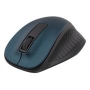 Deltaco trådlös optisk mus, 1200 DPI, blå