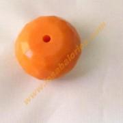 Plativolo color naranja 25 mm.