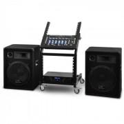 Set DJ PA Venus Bounce serie rack star 300 persone