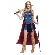 Vegaoo Walküre-Damenkostüm Lizenz Thor Ragnarok bunt