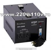 Transformator curent 110V la 220V 2000W