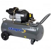 Compresor de aer Stager HM3100V 3CP, 100L, 8 BAR
