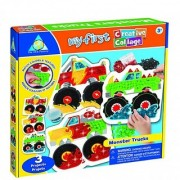 Orb Factory My First Creative Collage Kit Monster Trucks