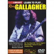 Roadrock International Lick Library: Learn To Play Rory Gallagher DVD