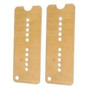 ELECTROPRIME 2X Brass Humbucker Pickups Base Plate for Electric Guitar Soapbar P90 Pickup