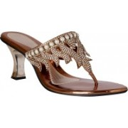 Pantof Girls Heels(Brown)