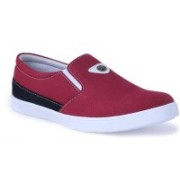 Shoe Bazzar Mens Red Casual Shoes Casuals For Men(Red, Black)