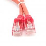 Cablu UTP Patch cord cat. 5E, conectori 2x 8P8C, lungime cablu: 1m, bulk, Rosu, GEMBIRD (PP12-1M/R)