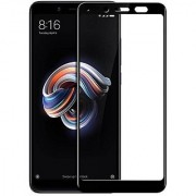 A1Quality Full Glue REDMI Note 5 PRO Full Coverage Tempered Glass Full Edge-to-Edge Screen Protector-Black (Pack of 1)