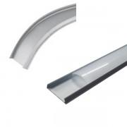 Profilo per led in alluminio pieghevole 2 metri