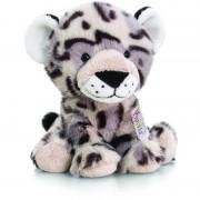 Snow Leopard Pippins Keel Toys, 14 cm