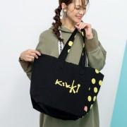 KiKKi ランダム水玉トートBAG【QVC】40代・50代レディースファッション