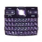 iPartsBuy Mobile Phone Keypads Housing Replacement with Menu Buttons / Press Keys for Nokia E72(Purple)