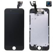 iPhone 6 LCD + Touch Display Skärm med kamera och ram - Svart färg
