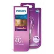 Philips LED žarulja, E27, P45, topla, 40W, gls,dim