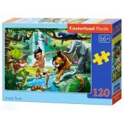 Puzzle Cartea Junglei, 120 piese