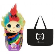 "Flip Zee Trolls RAINBOW GALORE w/ Exclusive FlipaTote, 2 in 1 9"" Plush, The Troll That Flips for you!"