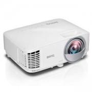 Видео проектор BenQ MW809ST Short Throw, DLP, WXGA(1280x800), 12 000:1, 3000 ANSI Lumens, VGA, HDMI, USB, Speaker, Optional Interactive Kit (PW02/PT12
