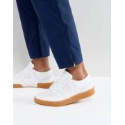 Reebok Белые кроссовки на резиновой подошве Reebok Club Workout BS6205