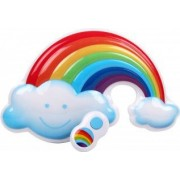 Lampa de veghe cu sunete Pretty Pretty Rainbow cu telecomanda si 3 nivele de sunet si lumini