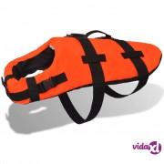 vidaXL Prsluk za Spašavanje za Psa S Narančasti