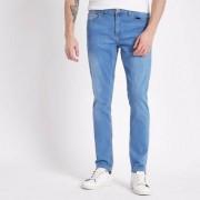 River Island Mens Blue Sid skinny jeans - Size 36 32 (EU)