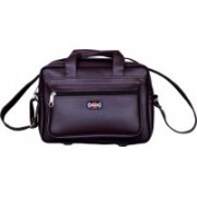 YES STYLE Men & Women Brown Messenger Bag