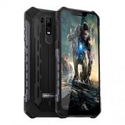 "Ulefone Armor 6E teléfono Celular Robusto Desbloqueado, teléfono Resistente Dual Sim 4G 6.2"" FHD Android 9.0 Helio P70, 4GB+64GB, NFC+ Face ID + UV Senso+GPS + Carga inalámbrica, Armor 6E Negro"